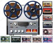 Оцифровка аудио-бобин и аудио-кассет